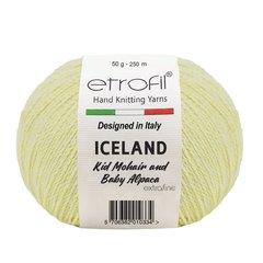 Пряжа Iceland Etrofil мохер, альпака и вискоза