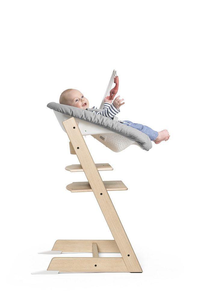 Сиденье для новорождённого Stokke Newborn Set в стульчик Tripp Trapp Grey