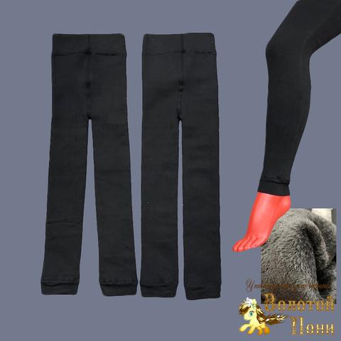 Лосины на меху девочке (128-170) 210830-Z3424