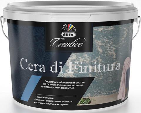 Dufa Creative Cera Di Finitura/Дюфа Креатив Цера Ди Финитура лессирующий матовый состав на основе воска