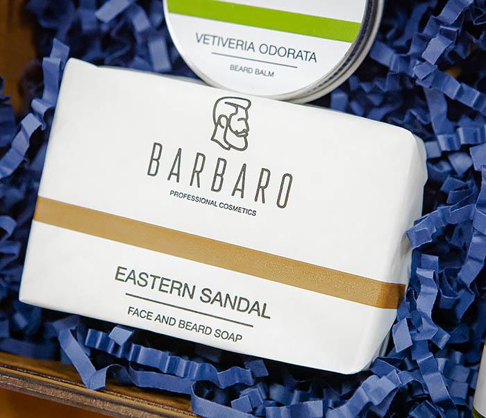 Набор из трех средств для ухода за бородой Barbaro «Vetiveria Odorata» фото 02