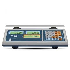 Весы торговые настольные Mertech M-ER 322AC-15.2 Ibby, 15кг, 2гр, 315х235, с поверкой, без стойки