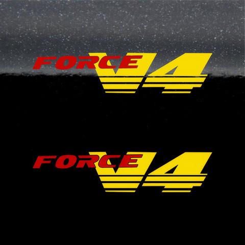 Набор виниловых наклеек на мотоцикл HONDA VFR 750 V4 FORCE (2шт)
