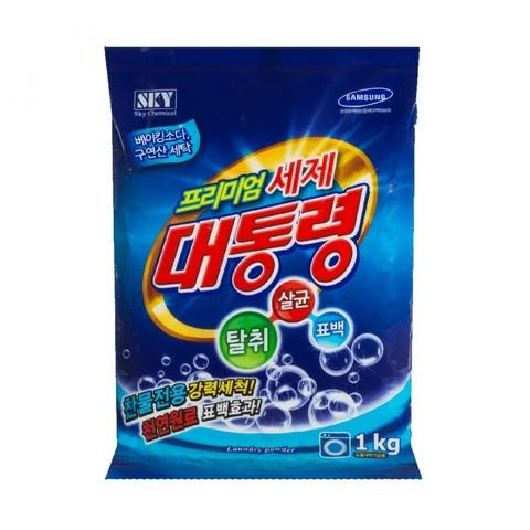 Sky Chemical President Универсальный концентрированный стиральный порошок премиального класса 1 кг /