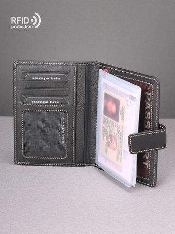 217 R - Обложка для документов c RFID защитой