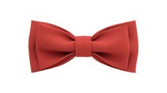 Однотонный галстук - бабочка (кирпичный)