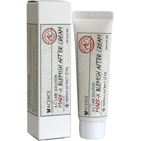 Mizon Acence Mark-X Blemish After Cream эффективный крем для борьбы с акне и следами от акне с прополисом и центеллой азиатской