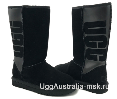 UGG Classic Tall Rubber Boot Black
