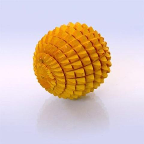 Массажёр деревянный Колючий шарик