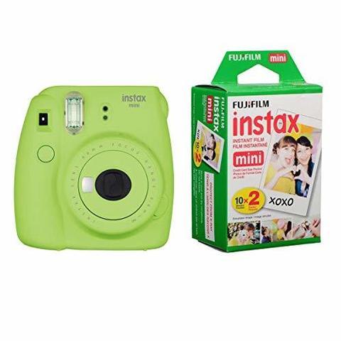 Fotoaparat Fujifilm Instax Mini 9 Instant Camera (Lime Green) with Film