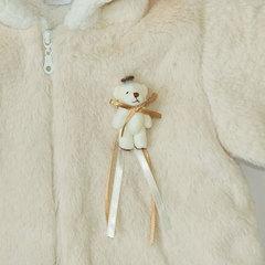 Папитто. Комплект утепленный куртка и брюки, беж/экрю вид 5