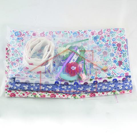 Набор для изготовления шторок для домика Happy family 012-01