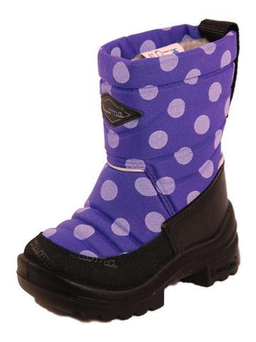 Сапоги Куома для девочек фиолетовые