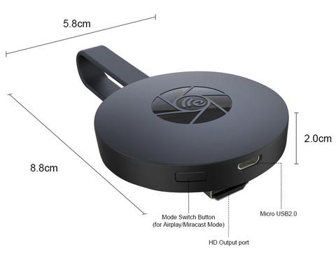 Адаптер HDMI MiraScreen G2 Dongle