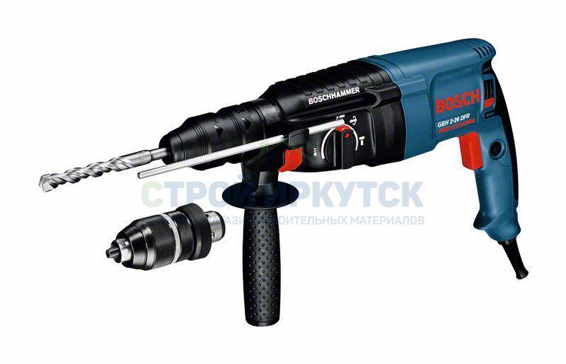 Перфораторы Перфоратор с патроном SDS-plus Bosch GBH 2-26 DFR (0611254768) d9f8a8d3279530c8572cba2d2c7dfddc