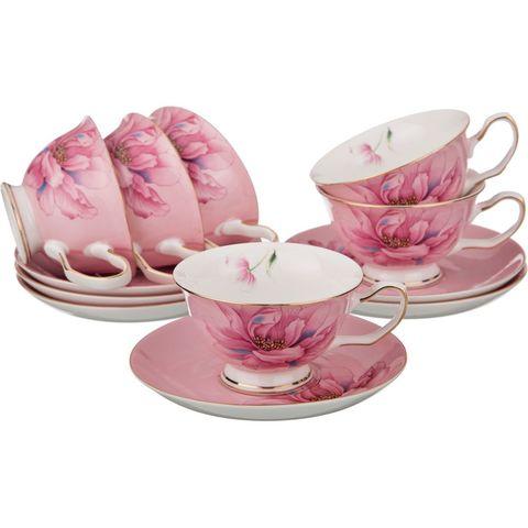 Чайный набор из фарфора на 6 персон 275-835