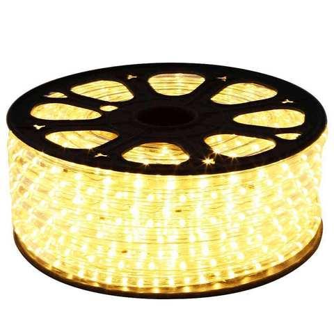Светодиодная лента SMD5050/60. 220V. Белая теплая