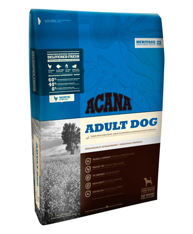 Acana Heritage Adult Dog корм беззерновой для собак 340 г