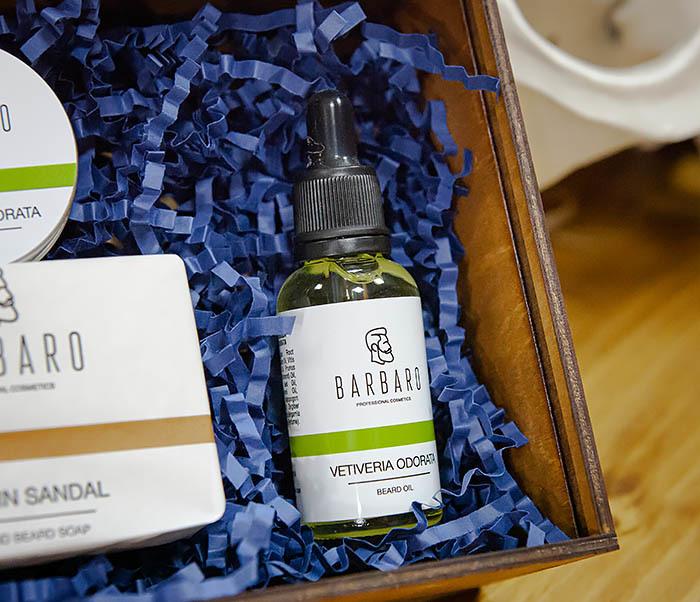 Набор из трех средств для ухода за бородой Barbaro «Vetiveria Odorata» фото 04