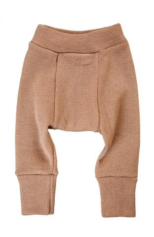 Длинные пеленальные штанишки (Бежевые, S)