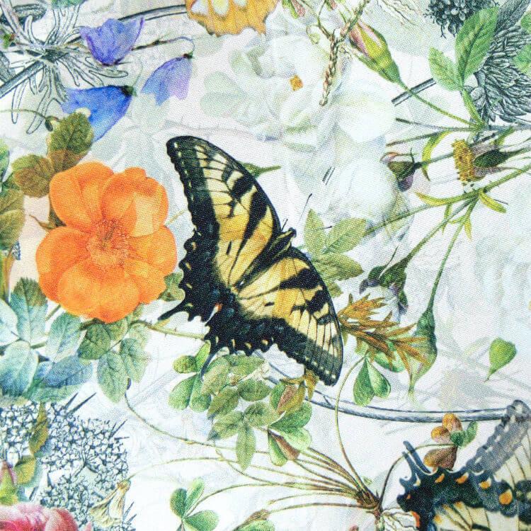 Зонт складной женский Pasotti 261S-5D557/1-54 Butterfies