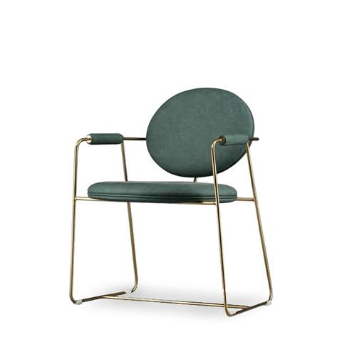 Стул-кресло Gemma by Baxter (зеленый)