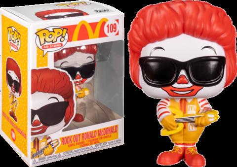 Фигурка Funko Pop! AD Icons - McDonald's - Rock Out Ronald McDonald