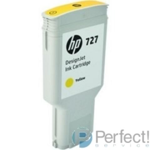HP F9J78A Картридж HP №727, Yellow {DJ T920/T1500/2500/930/1530/2530 (300ml)}