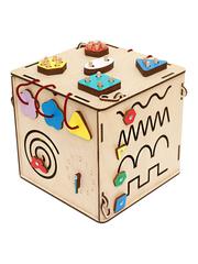 Бизи-куб + свет (25х25х25) (КЕТ) фото 4