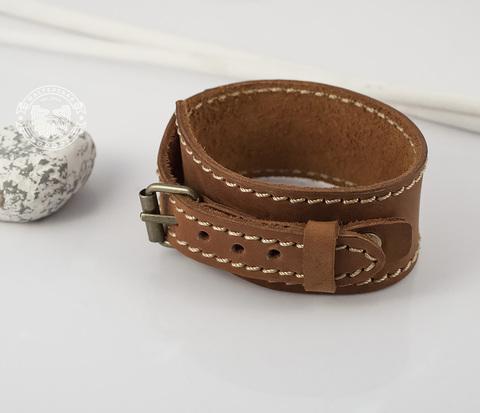 BL402 Классный мужской браслет напульсник с регулируемой длиной