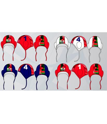 Шапочка ватерпольная Diapolo с символикой РБ дизайном profi World Champion (2016) 28 штук