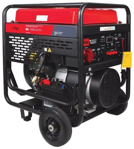 Кожух для бензинового генератора Fubag BS 14000 DA ES (12000 Вт)