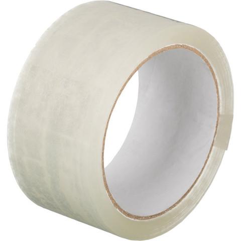 Скотч клейкая лента упаковочная прозрачная 48 мм x 55 м толщина 45 мкм