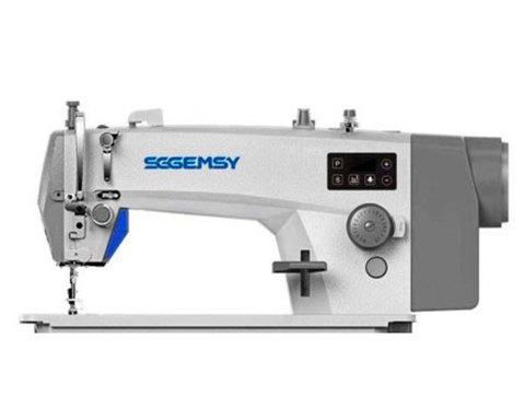 Одноигольная прямострочная швейная машина Gemsy GEM 8802 E -H | Soliy.com.ua