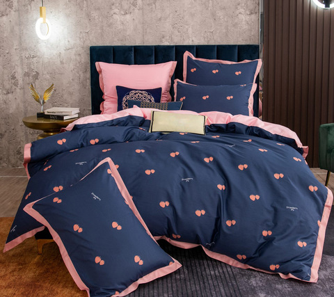 Семейное постельное белье индийский хлопок TS4-1