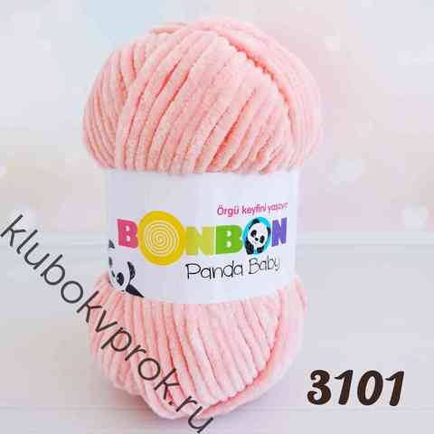 BONBON PANDA BABY 3101, Розовый