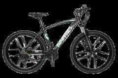 Велосипед Gestalt G-999 литые диски Черно-зеленый