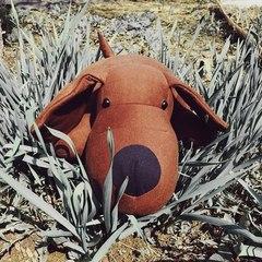 Подушка-игрушка антистресс Gekoko «Мохнатый Патрик Коричневый» 4