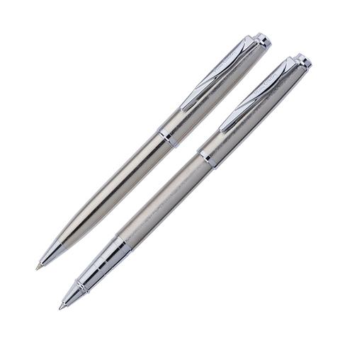 Набор подарочный Pierre Cardin Pen&Pen - Steel, ручка шариковая + ручка роллер
