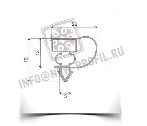 Уплотнитель для холодильного шкафа Atlant XT1003 (стеклянная дверь) 1330*560 мм по пазу(004 АНАЛОГ)