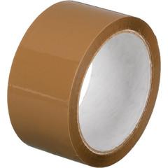 Скотч клейкая лента упаковочная коричневая 48 мм x 55 м толщина 45 мкм