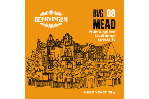 Дрожжи  BeerVingem для медовухи Mead BVG-08, 10 г