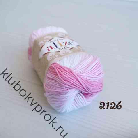 ALIZE BELLA BATIK 2126, Розовый