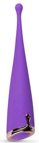 Фиолетовый клиторальный вибратор The Countess Pinpoint Vibrator - 19 см.