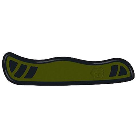 Передняя накладка для ножа Victorinox Swiss Soldier's Knife 08 111 мм, нейлоновая, зелёно-чёрная