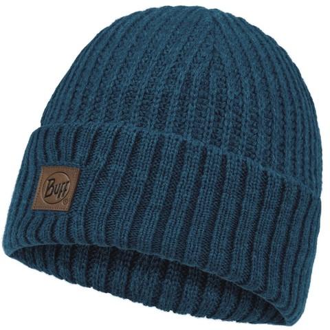 Вязаная шапка Buff Hat Knitted Rutger Steelblue фото 1