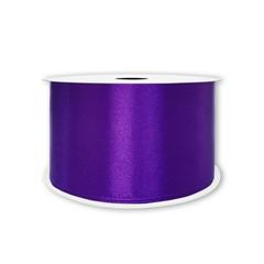 Лента Атлас Фиолетовый, 25 мм * 22,85 м.