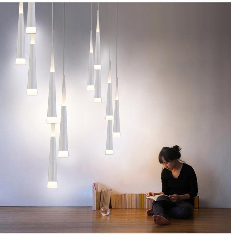 Подвесной светильник Droplight  by Light Room (золтой)