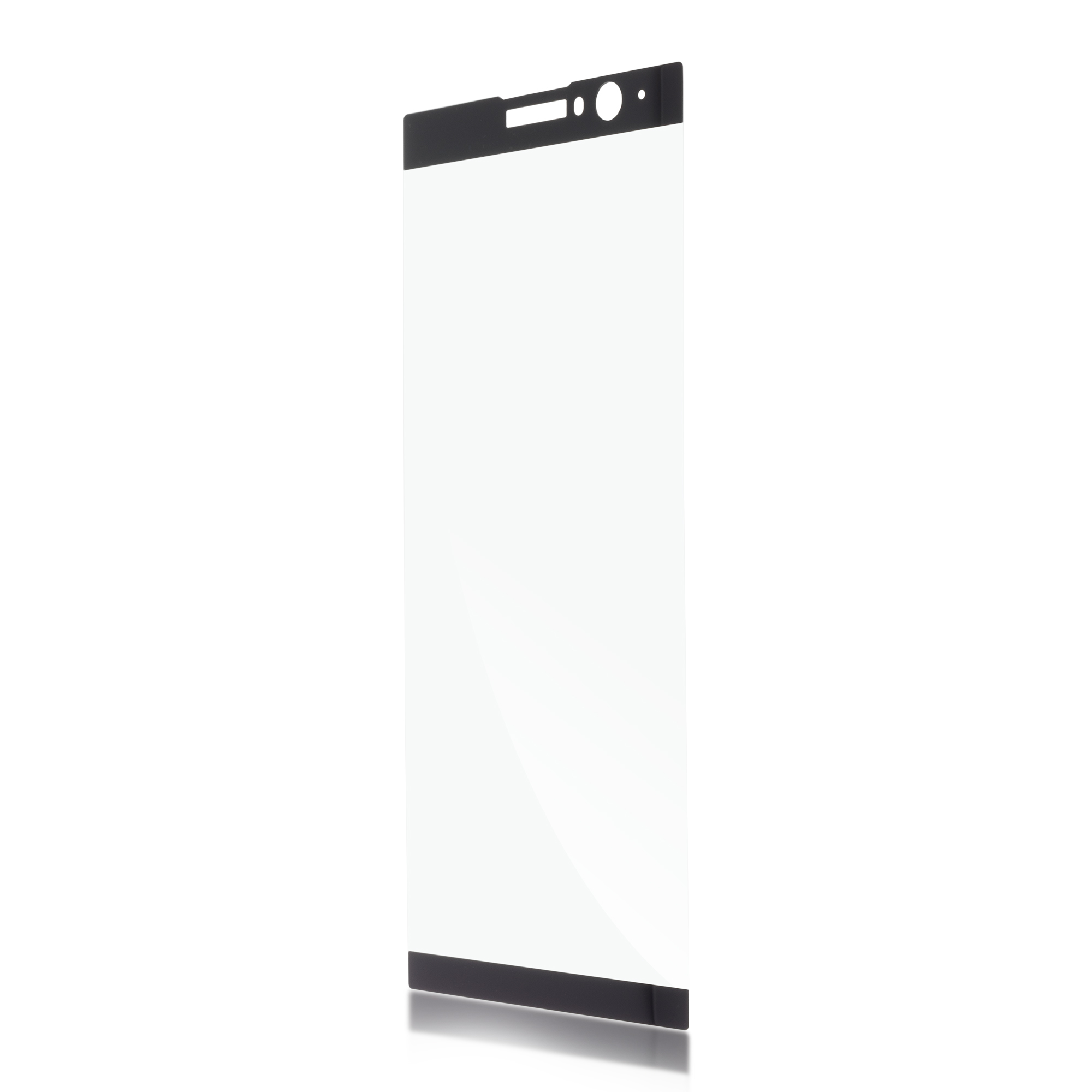 Защитное стекло для Xperia XA2 Plus чёрного цвета