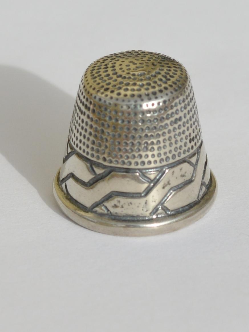 Наперсток 8003  (наперсток из серебра)